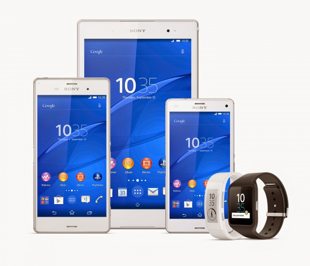 Sony announces the Xperia Z3, Xperia Z3 Compact & Xperia Z3 Tablet Compact Flagship devices at IFA