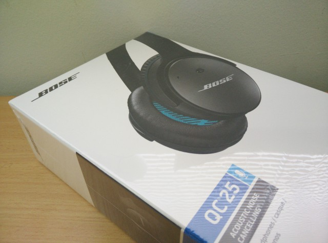 Bose Quiet Comfort 25 – First Impressions
