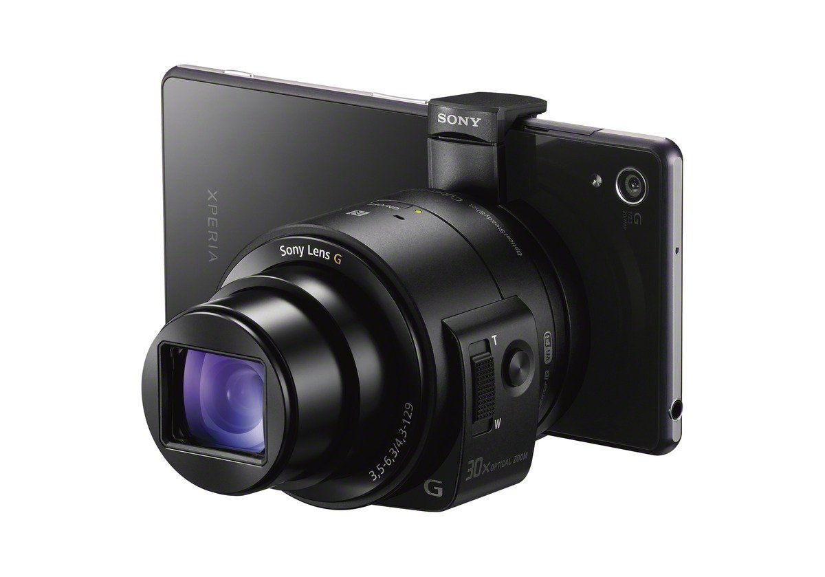 Sony announces QX1 E-series Lens Mount and QX30 Zoom Lens camera