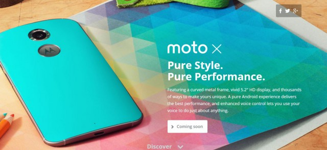 "Motorola announce the new Moto X with 5.2"" AMOLED 1080p display – coming to Australia later this year"