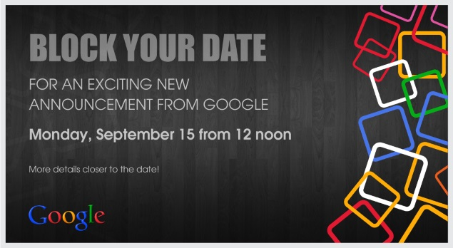 Google invites press to event in India – possibly the Android One launch event