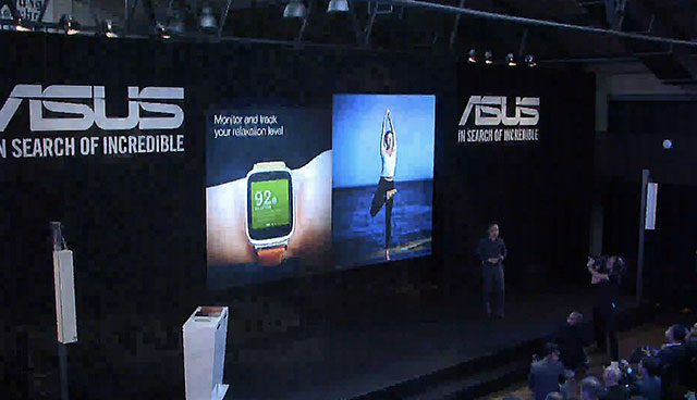 Asus announces the ZenWatch at IFA