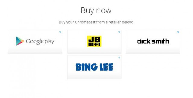 Chromecast Buy Now