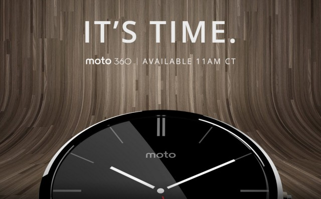 Moto 360 launches today in the US, later this year in Australia