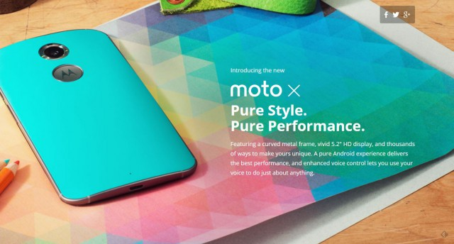 New Moto X page is now on Motorola's Australian website, if you know where to look