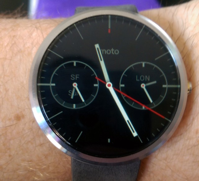 Moto 360 delayed on the way to Australian retailers
