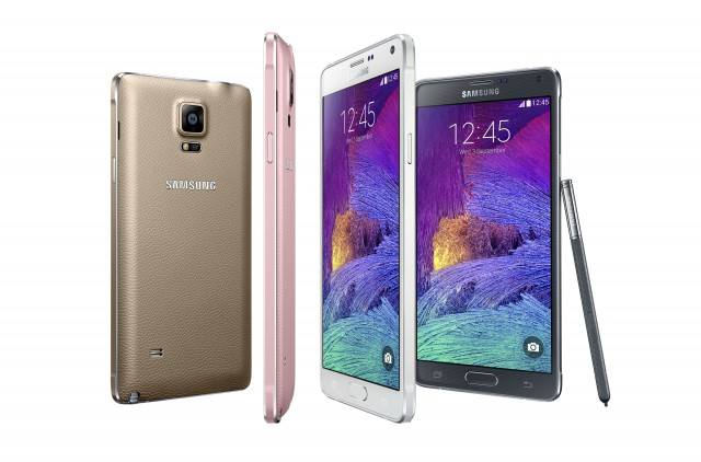 Samsung announces the Galaxy Note 4 and Note Edge