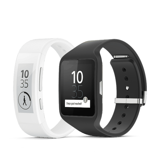 Smartband Talk and SmartWatch 3