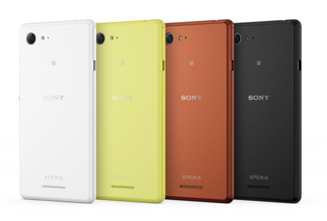 Sony announces the mid-range Xperia E3 at IFA