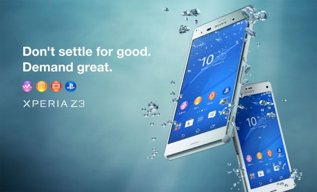 Register your interest with Sony Australia to find out more about the Xperia Z3 and Z3 Compact