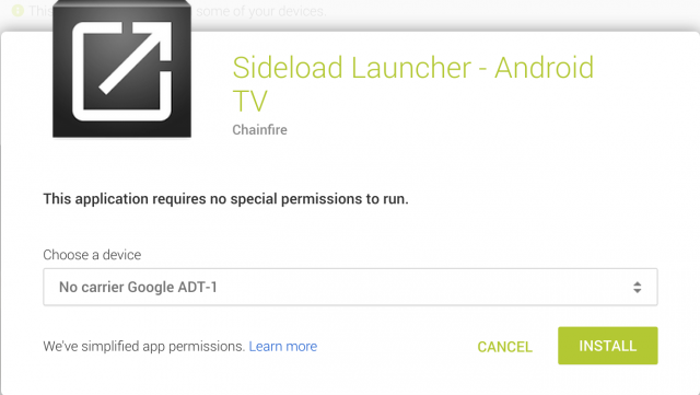 ADT-1 Install to Google Play
