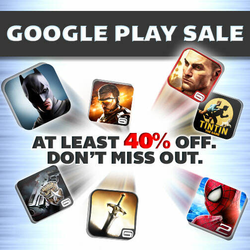 Grab a bunch of Gameloft games for just $0.10 now on Google Play