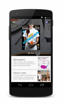 Newsstand - Android - N5 - Magazines