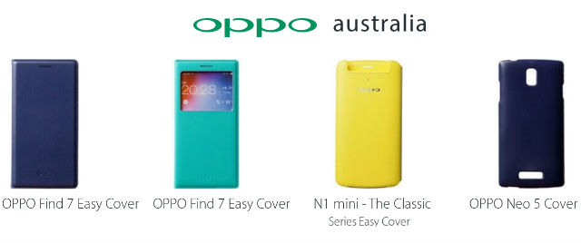 Oppo now selling covers on their Australian site