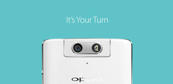 Oppo N3 appears officially to show off rotating camera module in faux leather