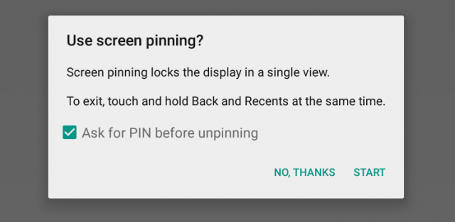Android 5.0 Tour: Screen Pinning