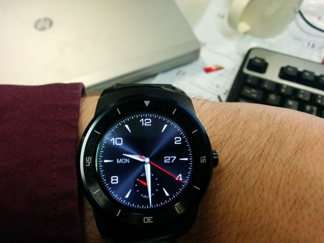 LG G Watch R – reader's first impressions