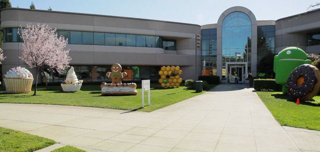 Android Lollipop Lawn statue is finally unveiled