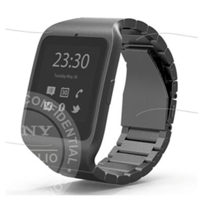 Sony Smartwatch 3 stainless steel band shows up in leaked image
