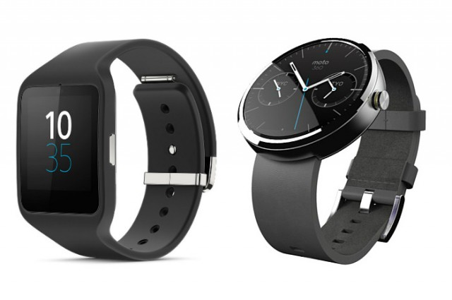 Comparing the Moto 360 to Sony's new Smartwatch 3: There's a clear winner