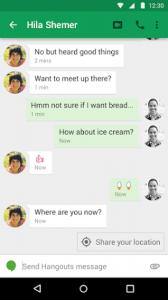 Contextual location sharing
