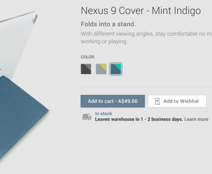 Nexus 9 Origami Cover