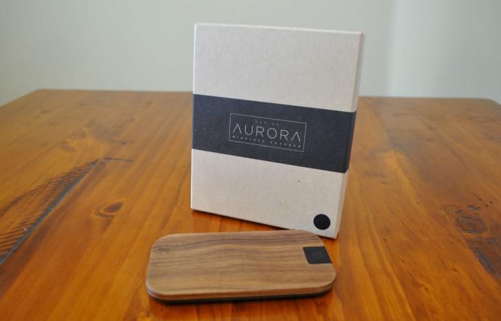 Aerios Aurora Wireless Qi Charger
