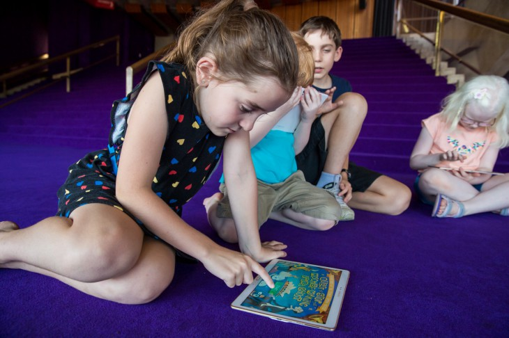 Samsung and Sydney Opera House launch an interactive digital learning experience for school children