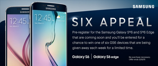 Samsung Galaxy S6 and Galaxy S6 Edge appear in Sprint advertising leak