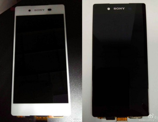 A sneak peek at the Sony Xperia Z4 front panel, thanks to our Chinese friends