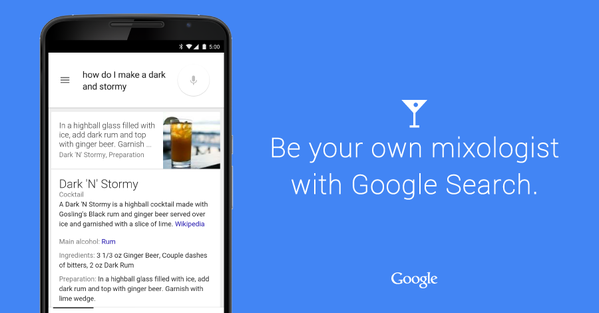 Google Mixed Drinks