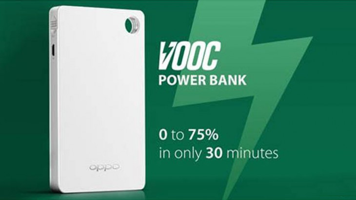 Oppo Australia is finally selling their VOOC Flash Charge Power Bank – quick portable power for your VOOC compatible phone