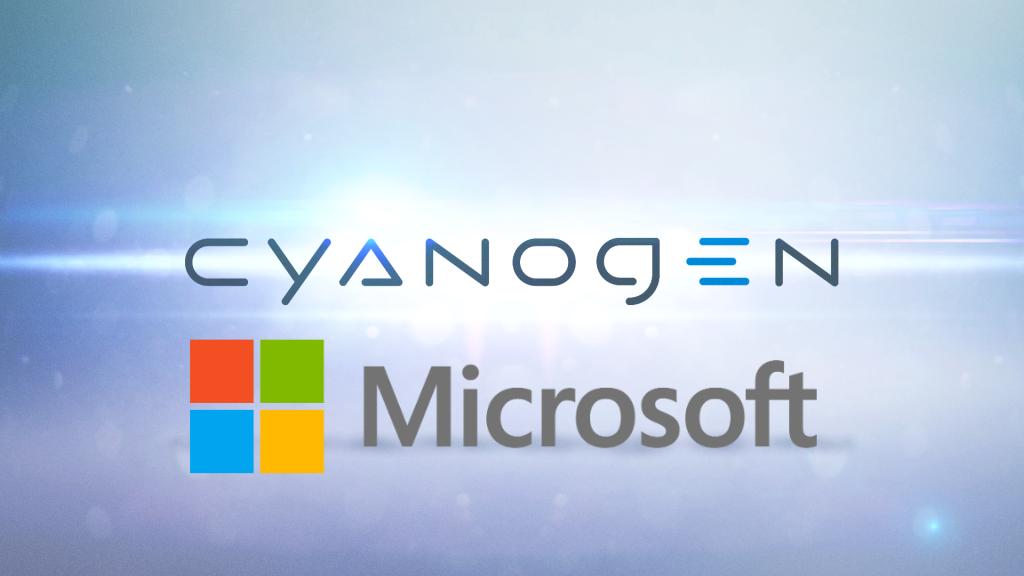 Cyanogen Inc and Microsoft