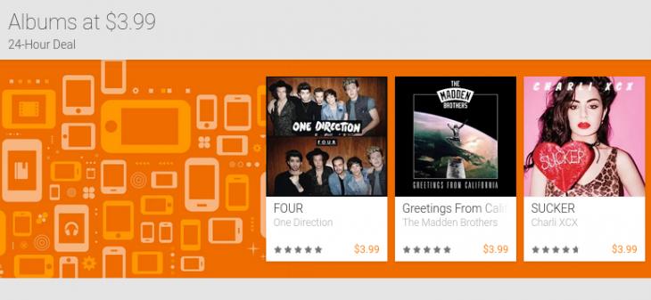 Google Play Music Deals