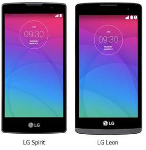 LG Australia launching the mid-range Leon and Spirit phones in the coming months