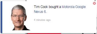 Tim Cook - Nexus 6