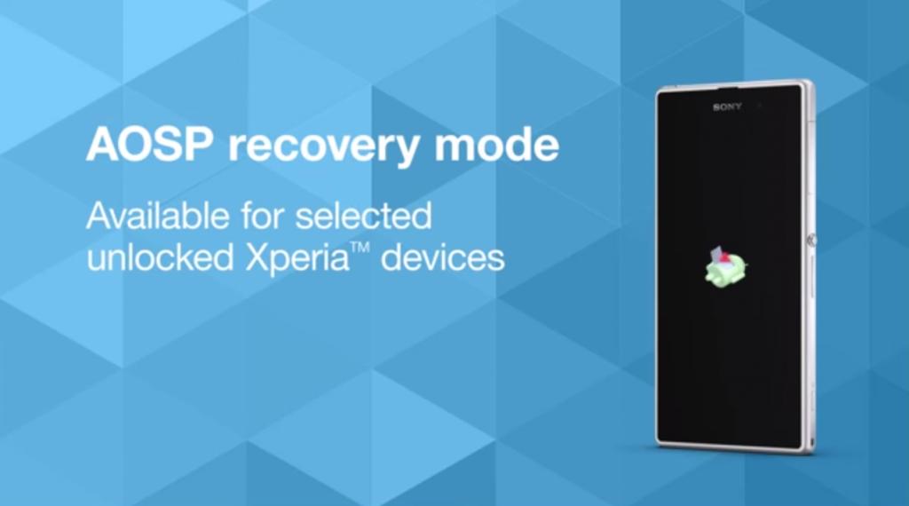 AOSP Recovery - Sony