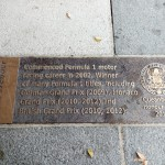 Mark Webber Plaque