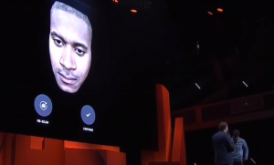 Preview of face scan