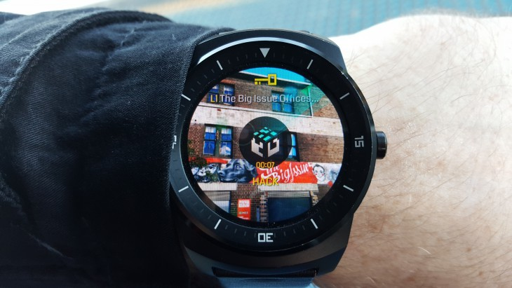 Ingress Android Wear