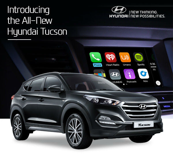 Hyundai Lineup 2015: Hyundai Announces Their Upcoming Tucson ActiveX Will