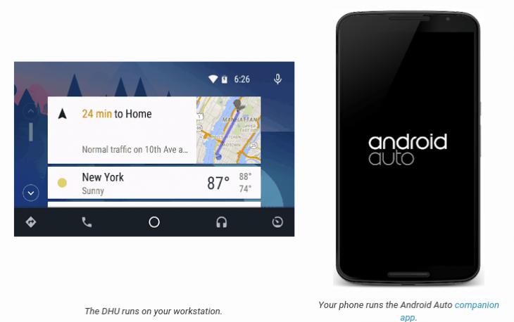 Desktop Head Unit - Android Auto