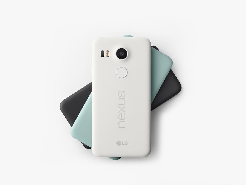 Nexus 5X - Black - White - Blue