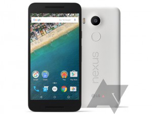 New Nexus 5X press renders leave little to the imagination, in white, black and blue