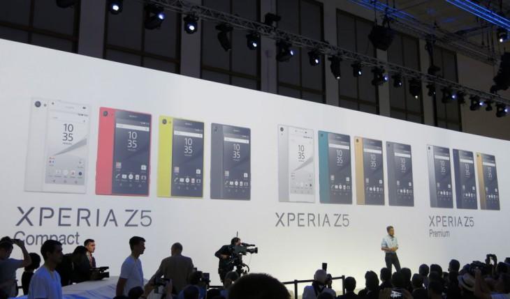 Sony-Z5-Family