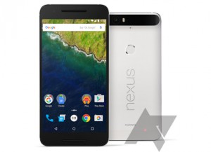 The storm continues with Nexus 6P press renders showing white, black, aluminum and gold options