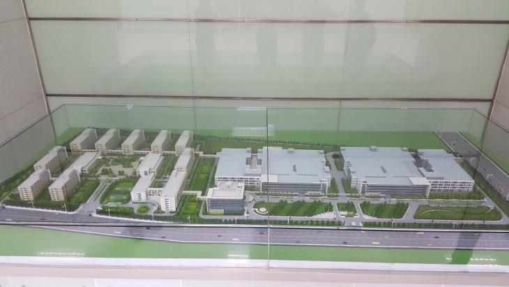 oppo-factory-building-model