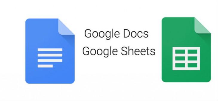 Docs - Sheets