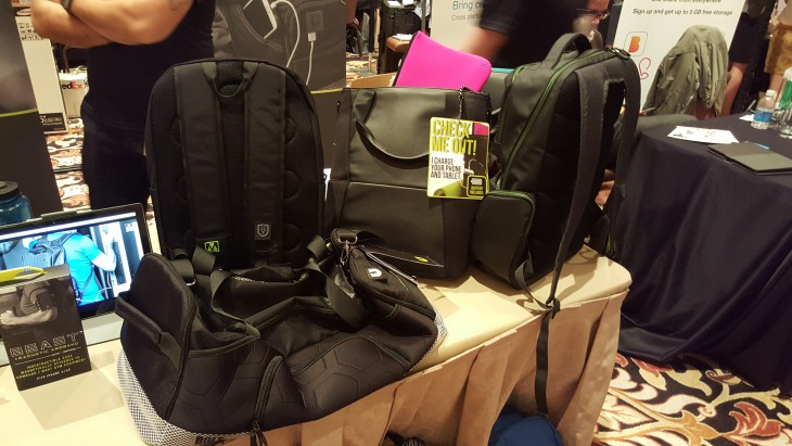 Medge's Tech Packs carry and charge your phone and tablet
