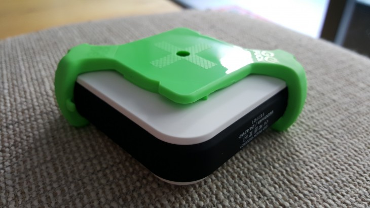 GoPuck with Active Mount attached